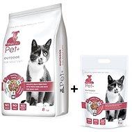 ThePet+ 3in1 Cat Outdoor 8kg +1kg zdarma - Granule pro kočky