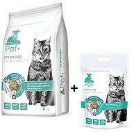 ThePet+ 3in1 Cat Sterilised 8kg + 1kg zdarma - Granule pro kočky