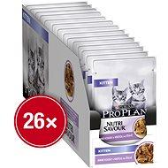Kapsička pro kočky Pro Plan Cat Junior s krůtou ve šťávě 26 × 85 g