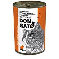 Don Gato konzerva kočka králík 415 g
