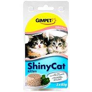 GimCat Shiny Cat junior kuře 2 × 70 g