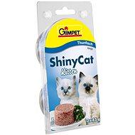 GimCat Shiny Cat junior tuňák 2 × 70 g