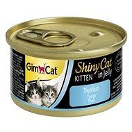GimCat Shiny Cat kitten tuňák 70 g