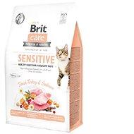 Brit Care Cat Grain-Free Sensitive Healthy Digestion & Delicate Taste, 0,4 kg - Granule pro kočky