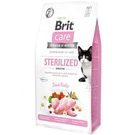 Brit Care Cat Grain-Free Sterilized Sensitive, 7 kg - Granule pro kočky