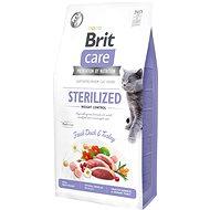 Brit Care Cat Grain-Free Sterilized Weight Control, 7 kg - Granule pro kočky