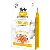 Brit Care Cat Grain-Free Haircare Healthy & Shiny  Coat, 2 kg  - Granule pro kočky
