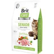 Brit Care Cat Grain-Free Senior Weight Control, 2 kg