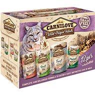Kapsička pro kočky Carnilove CAT pouch MULTIPACK (12 × 85 g)