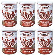 DOG FARM with muscle 400 g, 6 pcs - Canned Dog Food