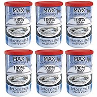 MAX sprats whole 400 g, 6 pcs - Canned Dog Food