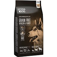 PrimaDog Game with Turkey without Cereals, for Adult Dogs with Sensitive Digestion, 10kg - Kibble for Dogs