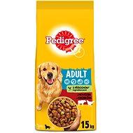 Pedigree Vital Protection granule hovězí a drůbeží pro dospělé psy 15kg