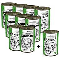 Canibaq Classic Jehněčí 9 × 415g + 1 zdarma - Konzerva pro psy