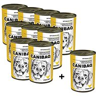 Canibaq Classic Drůbeží 9 × 415g + 1 zdarma - Konzerva pro psy