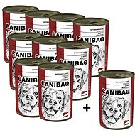 Canibaq Classic Játra 9 × 415g + 1 zdarma - Konzerva pro psy