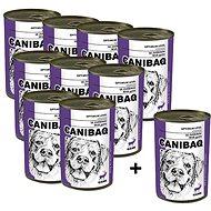 Canibaq Classic Zvěřina 9 × 415g + 1 zdarma - Konzerva pro psy