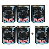 FFL Dog tin Turkey 5 × 800g + 1 zdarma - Konzerva pro psy