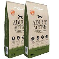 Shumee Prémiové psí granule Adult Active Chicken & Fish 30 kg
