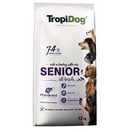 TropiDog Premium Senior krůta s rýží 12kg