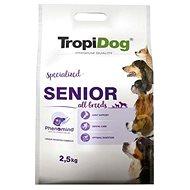 TropiDog Premium Senior krůta s rýží 2,5kg