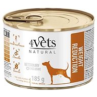 4Vets Natural Veterinary Exclusive Weight Reduction 185g