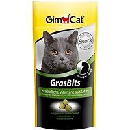 Doplněk stravy pro kočky GimCat Gras Bits Tablety s kočičí trávou 40g