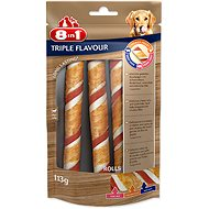 8in1 Triple Flavor Chewing roll 3pcs - Dog Treats