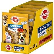 Pedigree Dentastix Chewy Chunx hovězí MINI pamlsky pro psy 5 × 68g - Pamlsky pro psy