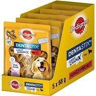 Pedigree Dentastix Chewy Chunx hovězí MAXI pamlsky pro psy 5 × 68g - Pamlsky pro psy