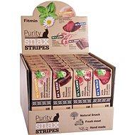 Fitmin cat Purity Snax STRIPES box 4 příchutě 24 × 35 g - Pamlsky pro kočky