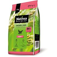 Nativia Puppy - Chicken & Rice 3 kg
