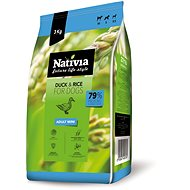 Nativia Adult Mini - Duck & Rice 3kg - Kibble for Dogs