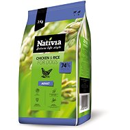 Nativia Adult - Chicken & Rice 3 kg - Granule pro psy