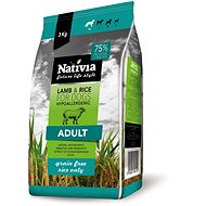 Nativia Adult Lamb & Rice 3kg - Kibble for Dogs