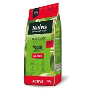 Nativia Active - Beef & Rice 15  kg