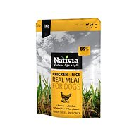 Nativia Real Meat - Chicken & Rice 1 kg - Granule pro psy