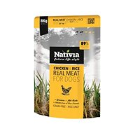 Nativia Real Meat - Chicken & Rice 8 kg - Granule pro psy