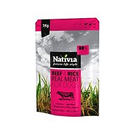 Nativia Real Meat - Beef & Rice 1kg - Kibble for Dogs