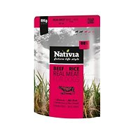 Nativia Real Meat - Beef & Rice8 kg - Granule pro psy