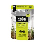 Nativia Real Meat - Rabbit & Rice 8 kg - Granule pro psy