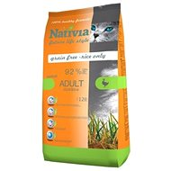 Nativia Adult Hairball - Duck & Rice 1,5kg - Kibble for Cats