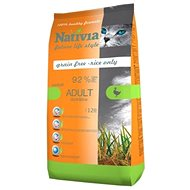 Nativia Adult Hairball – Duck & rice 10 kg