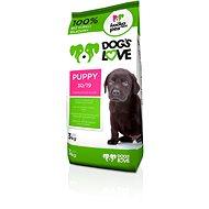 Dog´s Love Puppy 3 kg - Granule pro štěňata