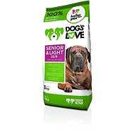 Dog´s Love Senior & light 3 kg - Granule pro psy