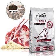 Platinum natural lamb rice jehněčí s rýží 5 kg - Granule pro psy