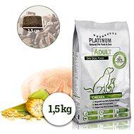 Platinum Natural Adult Chicken 1.5kg - Kibble for Dogs
