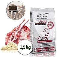 Platinum Natural Lamb With Rice 1.5kg - Kibble for Dogs