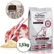 Platinum natural lamb rice jehněčí s rýží 1,5 kg - Granule pro psy