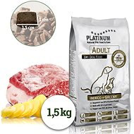 Platinum Natural Iberico Greens Wild Boar with Vegetables 1.5kg - Kibble for Dogs